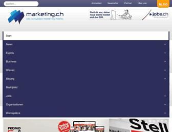 marketing.ch screenshot
