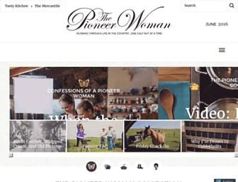 thepioneerwoman.com screenshot