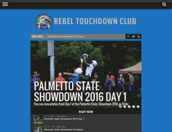rebeltouchdownclub.com screenshot