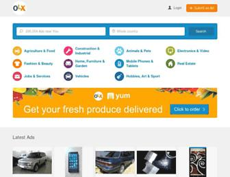 olx.co.ke screenshot