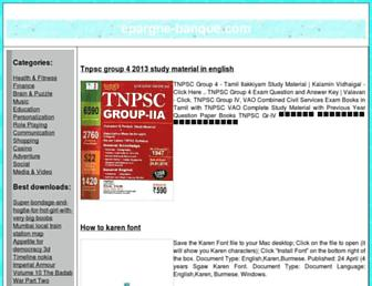 epargne-banque.com screenshot