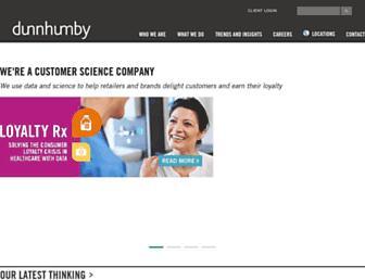 dunnhumby.com screenshot