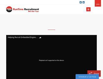 runtimerec.com screenshot