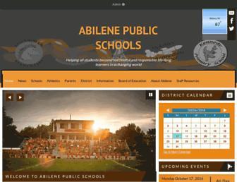 abileneschools.org screenshot
