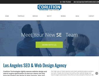 coalitiontechnologies.com screenshot