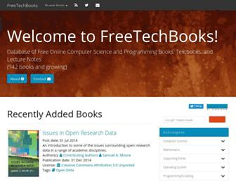 Thumbshot of Freetechbooks.com