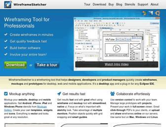 Thumbshot of Wireframesketcher.com