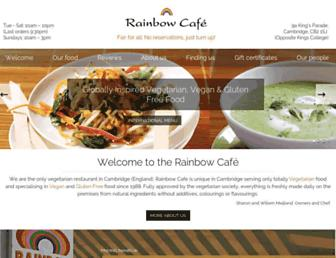 rainbowcafe.co.uk screenshot
