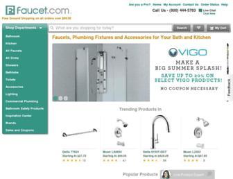 faucet.com screenshot
