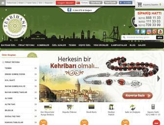 tesbihane.com screenshot
