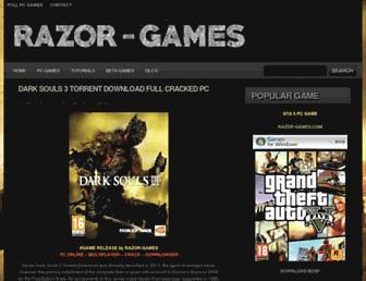 razor-games.com screenshot