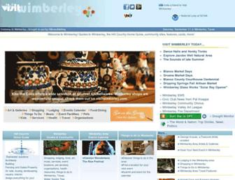 Thumbshot of Visitwimberley.com