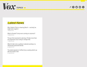 Thumbshot of Vox.com