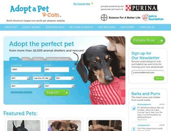 Thumbshot of Adoptapet.com