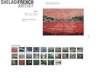 shelaghfrench.com screenshot