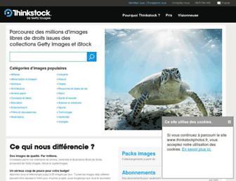 thinkstockphotos.fr screenshot