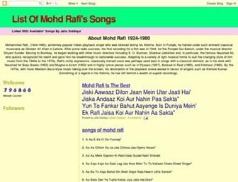 mohdrafi-songs-list.blogspot.com screenshot