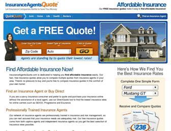 insuranceagentsquote.com screenshot