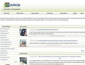 Fullscreen thumbnail of easy-articles.com