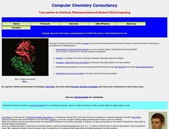 compchemcons.com screenshot