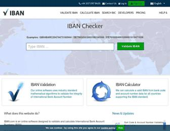 iban.com screenshot