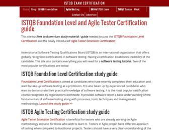 Thumbshot of Istqbexamcertification.com
