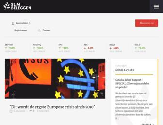 Thumbshot of Slimbeleggen.net