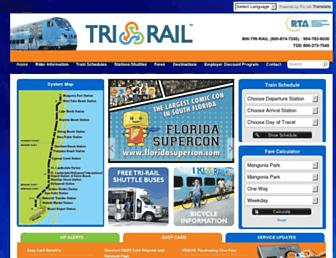 Thumbshot of Tri-rail.com