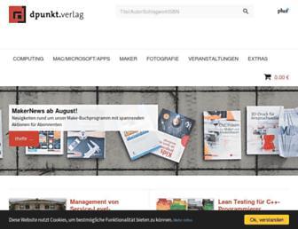 dpunkt.de screenshot