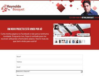 reynaldobosquet.com.br screenshot