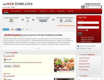 Thumbshot of Mixwebtemplates.com