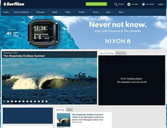 Thumbshot of Surfline.com