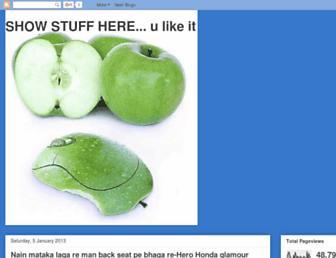 showstuffhere.blogspot.com screenshot