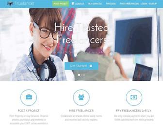 truelancer.com screenshot