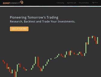 quantconnect.com screenshot