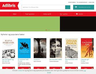 Main page screenshot of capris.no