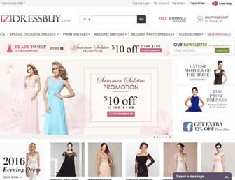 Thumbshot of Izidressbuy.com