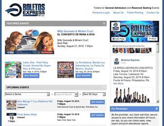 boletosexpress.com screenshot