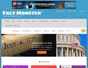 Thumbshot of Factmonster.com