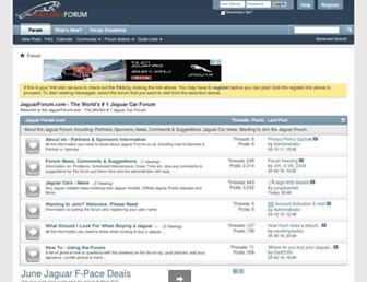Thumbshot of Jaguarforum.co.uk
