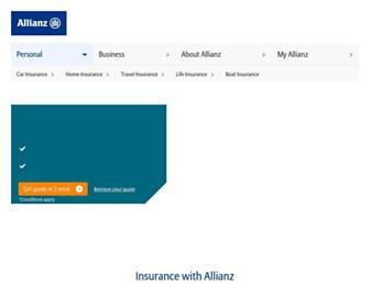 Thumbshot of Allianz.com.au