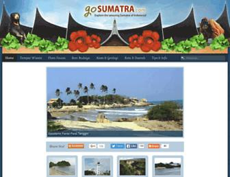 gosumatra.com screenshot