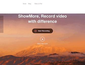 showmore.com screenshot