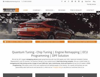 quantumtuning.co.uk screenshot