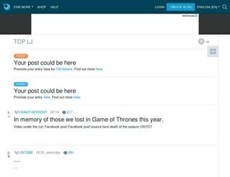 interso.livejournal.com screenshot
