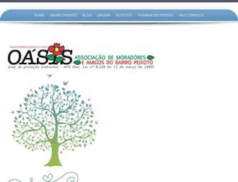 associacaodobairropeixoto.com.br screenshot
