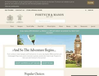 Thumbshot of Fortnumandmason.com