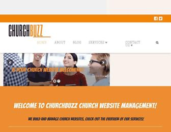 churchbuzz.org screenshot