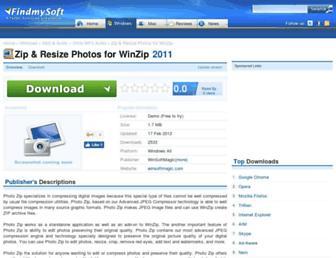zip-photos-formerly-photo-zip-for-winzip.findmysoft.com screenshot