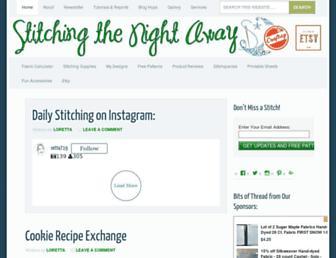 Thumbshot of Stitchingthenightaway.com